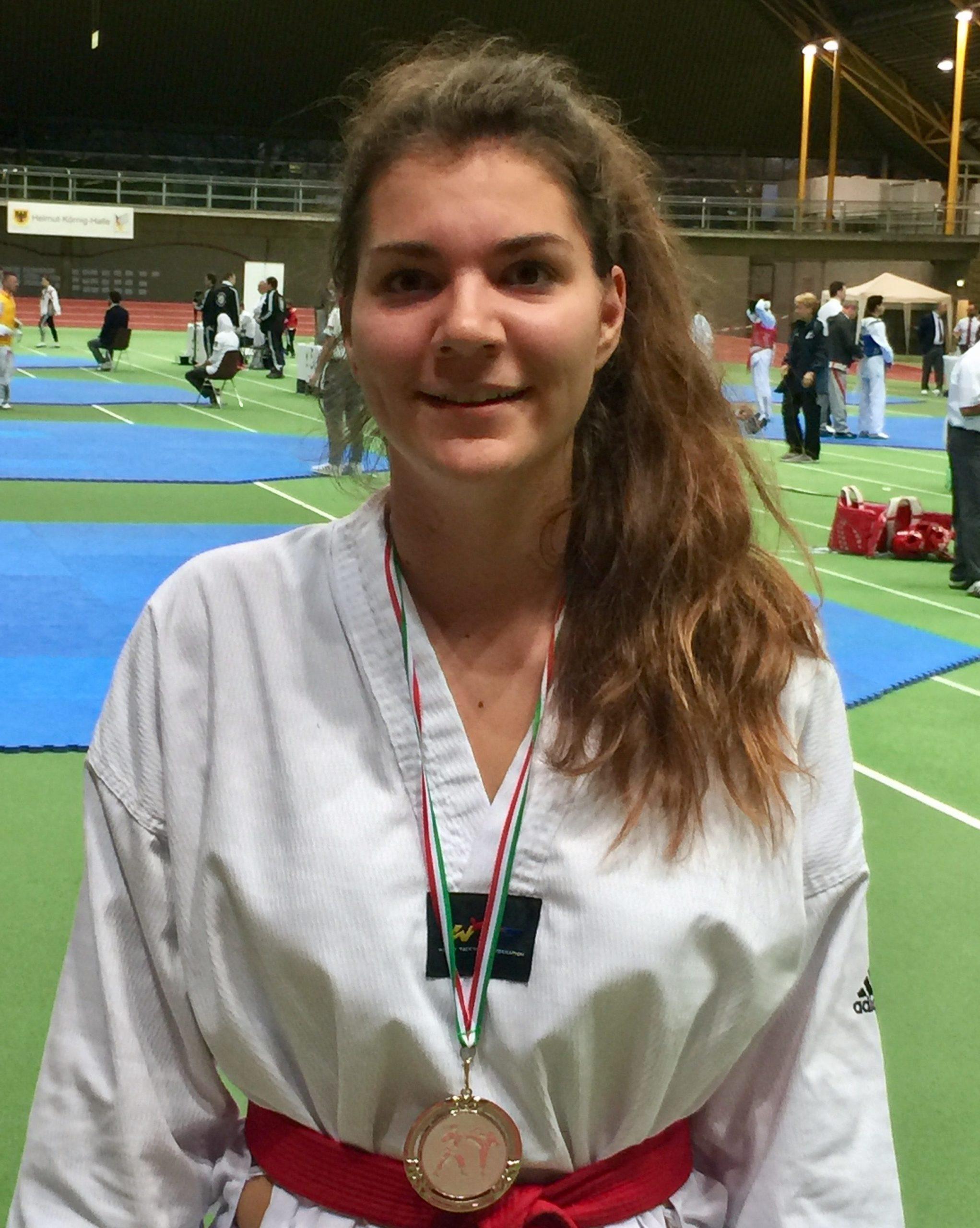 Laura erfolgreich bei den Internationalen NRW Masters 2017