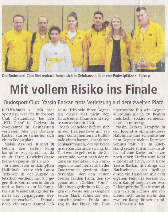 HTU Open Gelnhausen 2017