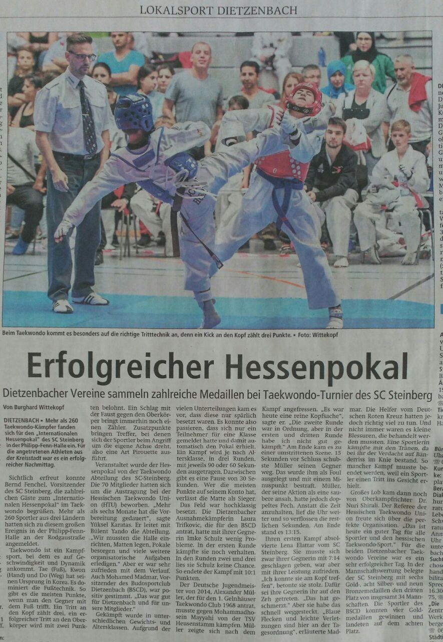 Internationaler Hessenpokal 2018
