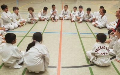Kampfsport für Kinder, Junged und Erwachsene beim Breitensportlehrgang in Dietzenbach