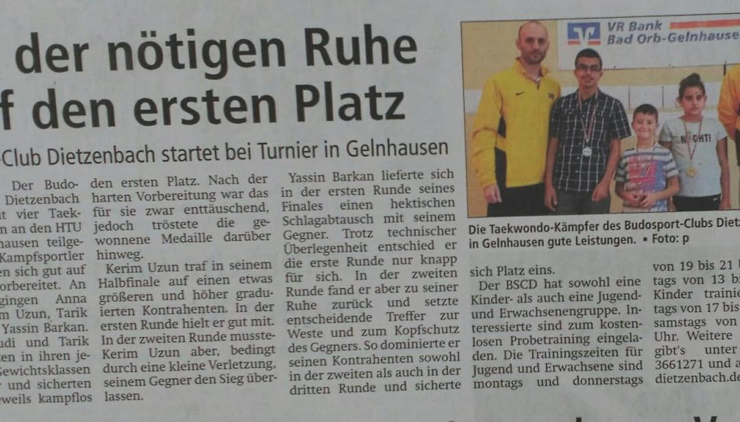 HTU – Open 2018 Gelnhausen
