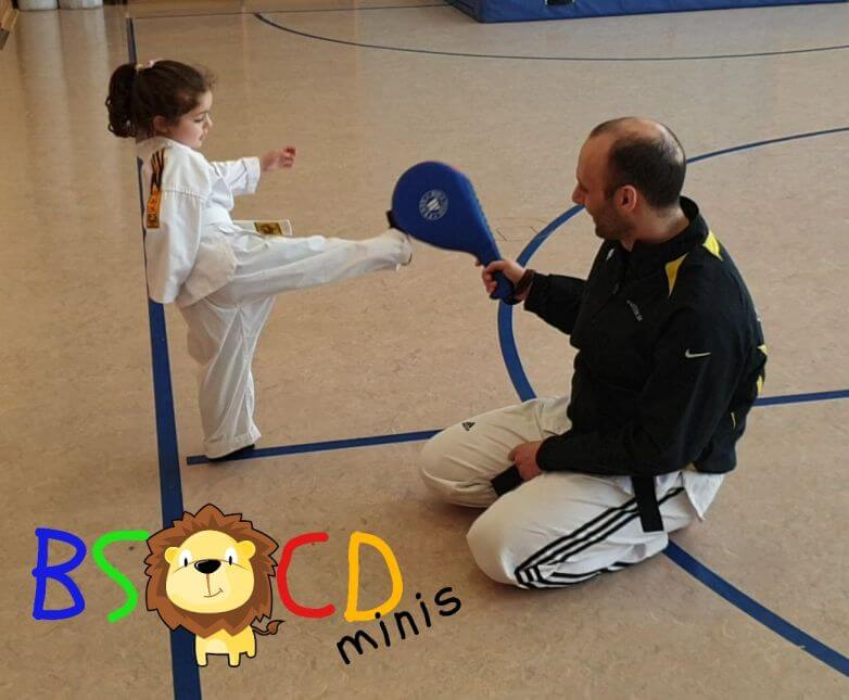 Neue Trainingseinheit: BSCD Minis