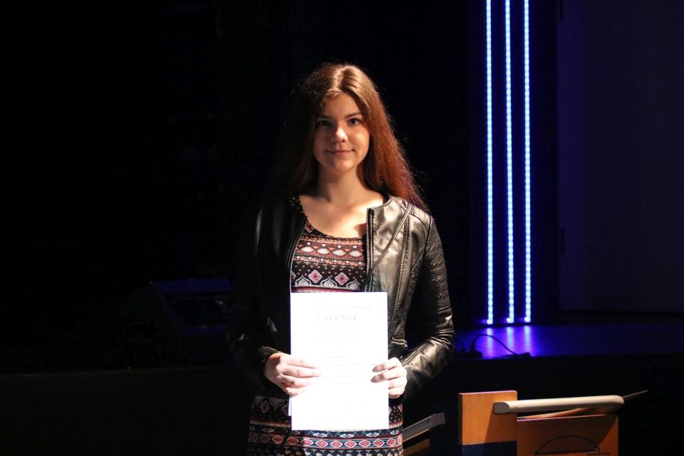 Sportlerehrung für Laura Trifkovic